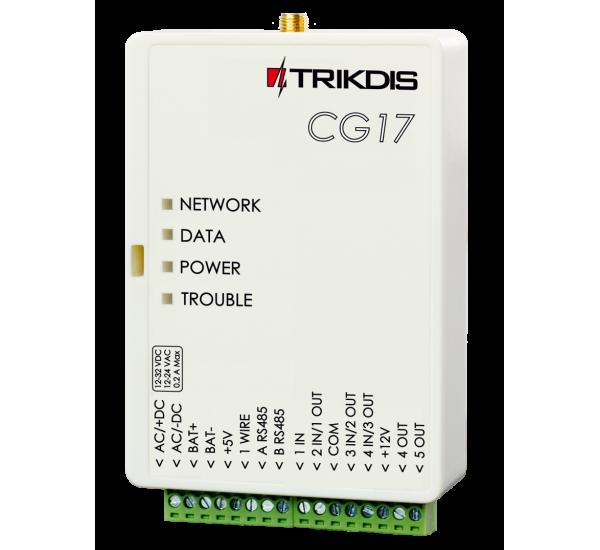 CG17 - Comunicator GSM - Controler automatizări